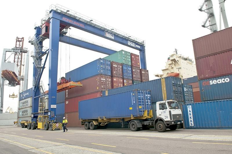В портах Черноморска и Рени временно остановили грузовые операции
