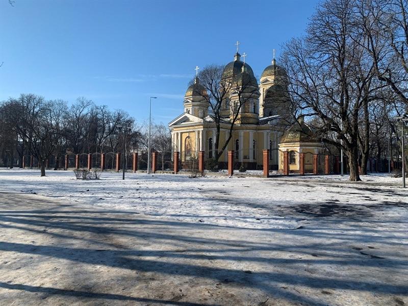 Алексеевский сквер в Одессе постепенно преображается