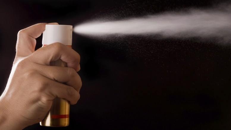 В Одессе мужчина пытался совершить кражу в магазине при помощи газового баллончика