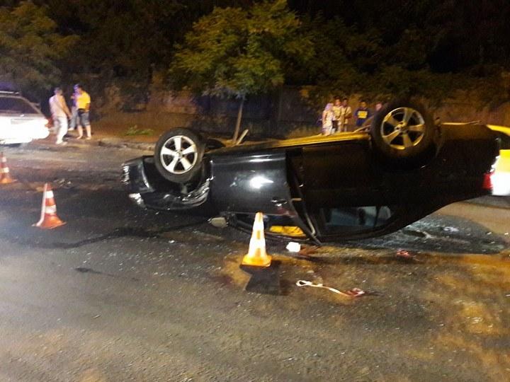 В Одессе на Приморской столкнулись четыре автомобиля