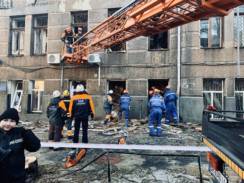 Работы по ликвидации пожара на Троицкой завершены