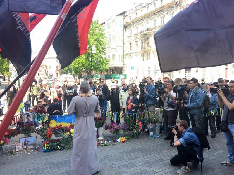 В Одессе прошел молебен по погибшим 2 мая