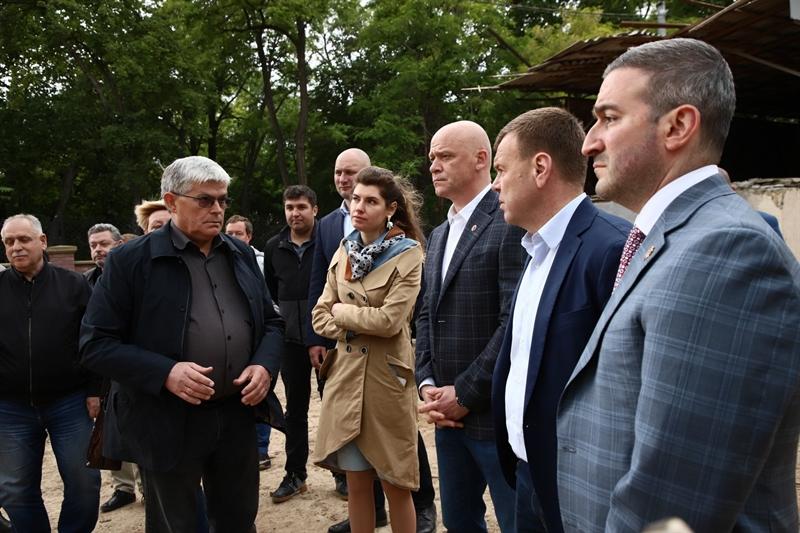 На территории Преображенского парка строят интерактивный музей и детскую площадку